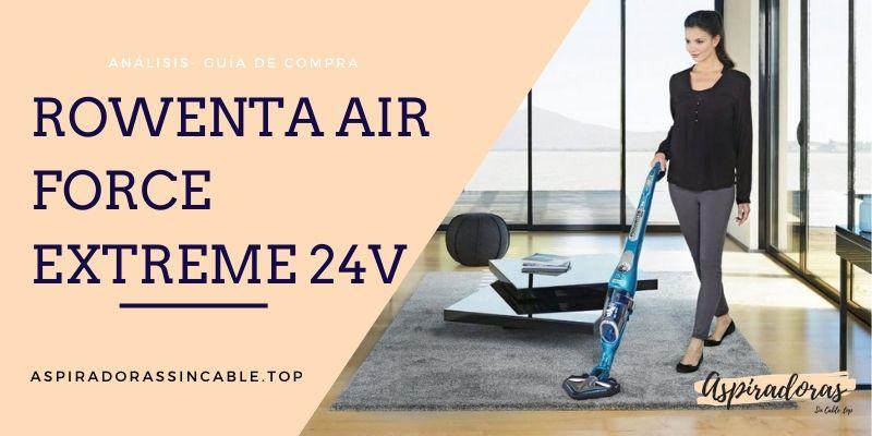 Aspiradora Rowenta Air Force Extreme 24v