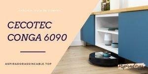robot aspirador cecotec conga 6090